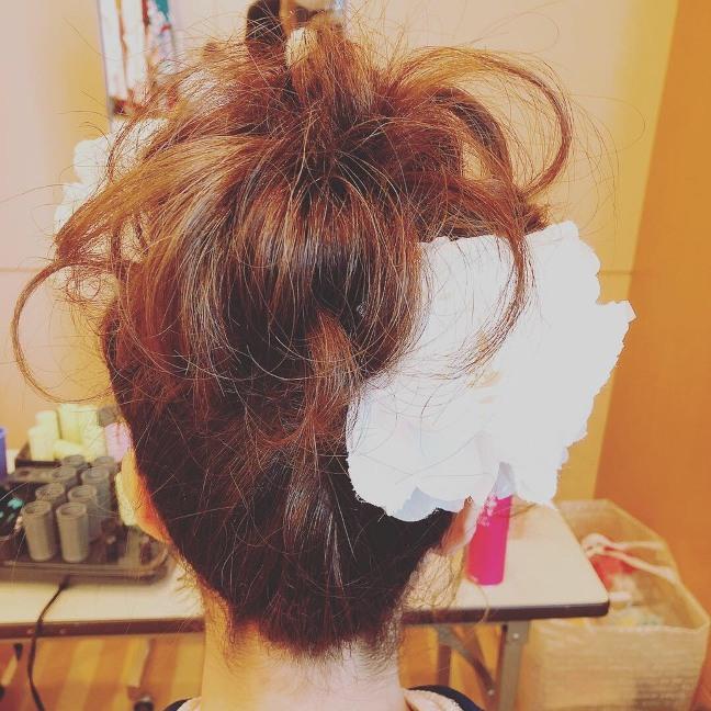 成人式の髪セット